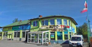 Auto-Trans budynek zewnątrz